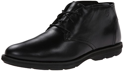 Timberland Men's EK Kempton Chukka Snow Boot, Black Smooth, 12 M US