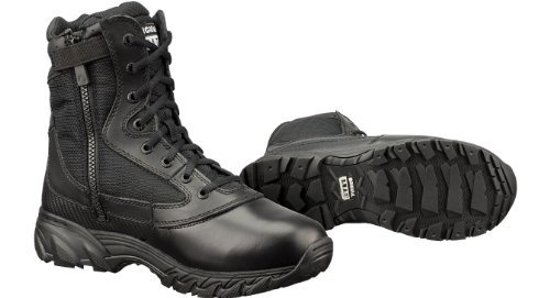 Original S.W.A.T. Men's Chase 9 Inch Side-zip Tactical Boot, Black, 9.5 D US