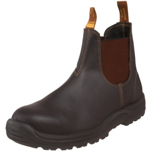 Blundstone Men's 172 Steel-Toed Boot,Stout Brown,7.5 M AU/8.5 M US