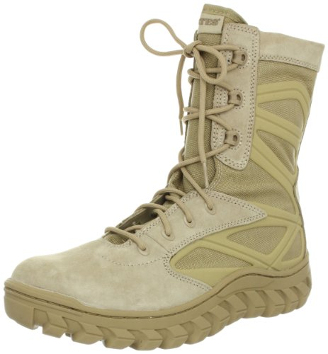 Bates Men's Annobon Work Boot,Desert,8 XW US