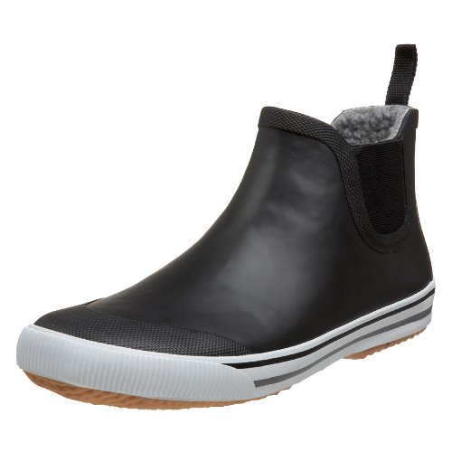 Tretorn Men's Strala Rain Shoe, Black Charcoal, 42 EU/9 D US