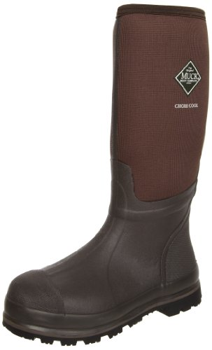 MuckBoots Chore Cool High Waterproof Work Boot,Brown,10 M US Mens