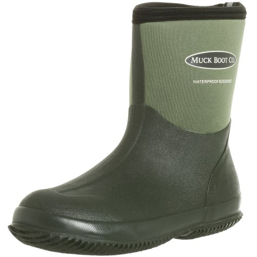 The Original MuckBoots Adult Scrub Boot,Garden Green,11 M US Mens/12 M US Womens