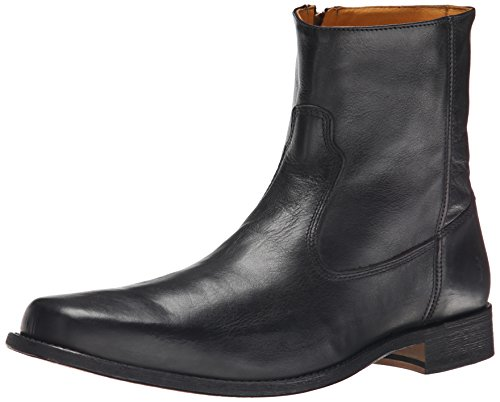 FRYE Men's Emmett Inside-Zip Boot Black 10.5 M US