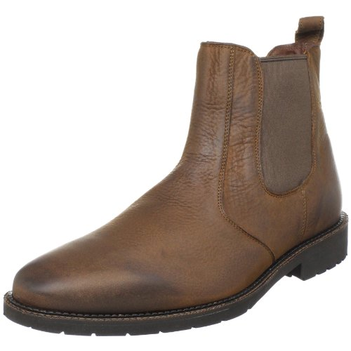 Neil M Men's Portland Pull-On Boot,Worn Saddle,13 3E US
