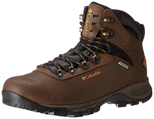 Columbia Men's Mudhawk Waterproof Wide Hiking Boot,Mud/Maple Sugar,14 W US