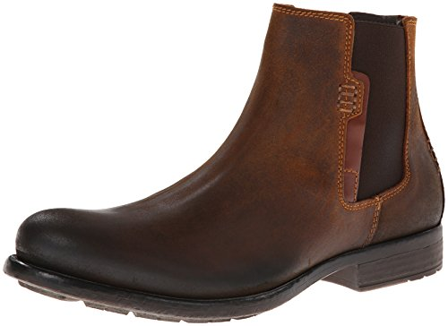 Kenneth Cole REACTION Men's Break A Leg NU Chelsea Boot,Tan,8.5 M US