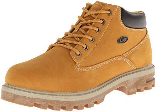 Lugz Men's Empire WR Thermabuck Boot, Golden Wheat/Cream/Bark/Gum, 8 D US