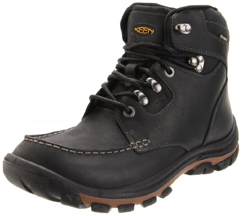 KEEN Men's Nopo Waterproof Boot,Black,8 M US