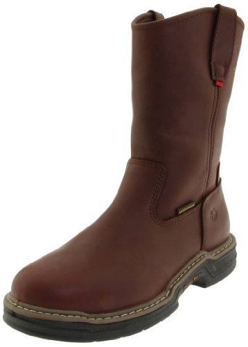 Wolverine Men's W04827 Buccaneer Boot, Dark Brown, 10 M US