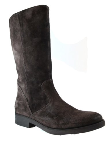 Davinci Italian Boots 4017 Brushes suede Brown Size 43