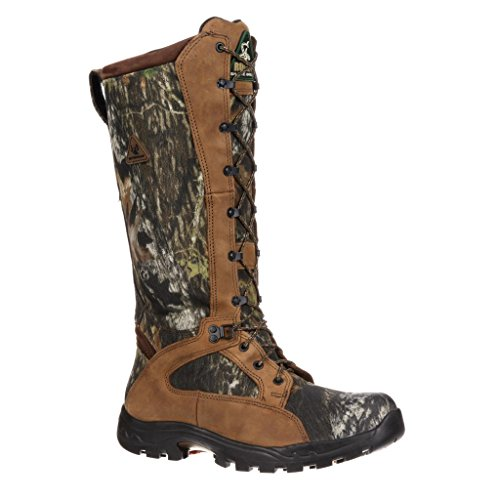 1570 Men's WP Snake Proof Hunting Rocky Boots – Mossy Oak – 7.0M