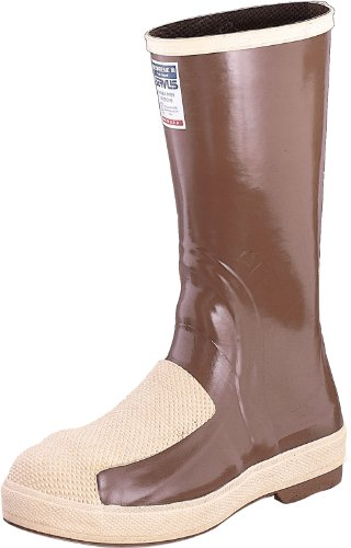 Honeywell Safety 22206-5 Servus Neoprene Duraguard Safety Hi Pac for Men's, Size-5, Copper Tan