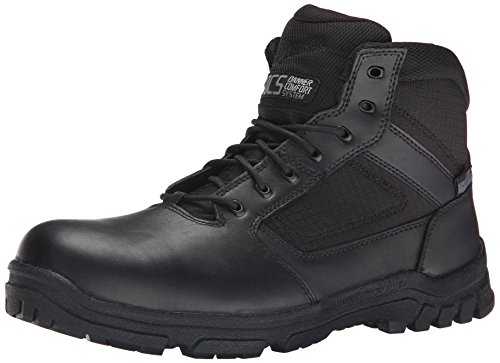 Danner Men's Lookout Side-Zip 5.5 Inch Law Enforcement Boot, Black, 9.5 D US
