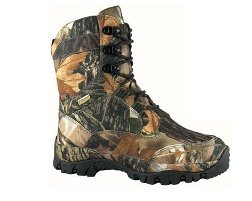 Smoky Mountain 4476 Men's Hunter Lace Up Waterproof Boot Camo 12 MW US