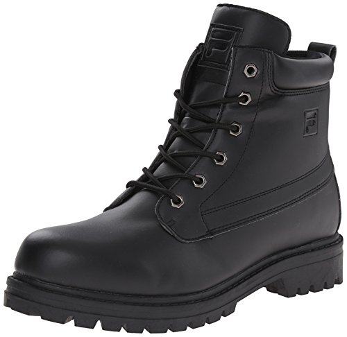 Fila Men's Edgewater 12 Hiking Boot, BlackRock, 9 M US