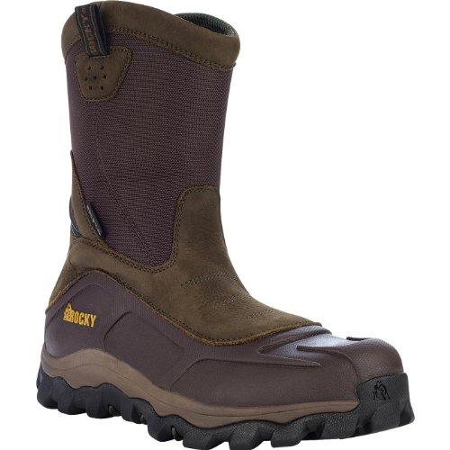 Rocky 6559 Men's GritArmor CT 10-in Boot Brown 10.5 M US