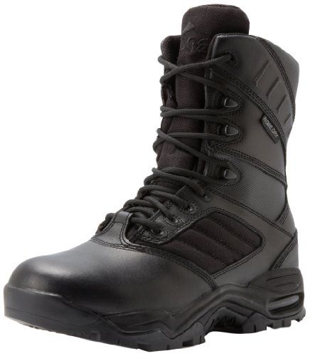 Ridge Footwear Men's Ultimate Zipper Boot,Black,10.5 M US