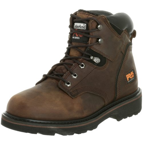 Timberland PRO Men's Pitboss 6″ Soft-Toe Boot,Brown/Brown,13 M