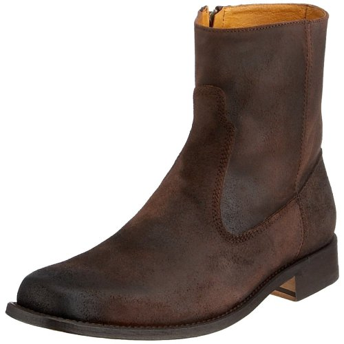FRYE Men's Emmett Inside-Zip BootChocolate10 M US