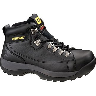 Caterpillar Men's Hydraulic Mid Cut Steel Toe Boot,Black,12 M US