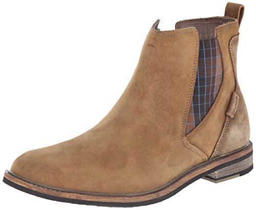 Mark Nason Dagger Collection Men's Rangpuk Chelsea Boot, Desert, 12 M US