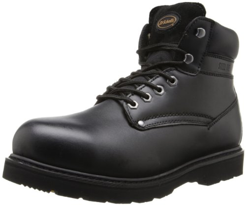 Dr. Scholl's Men's Grafton Work Boot,Black,9.5 M US