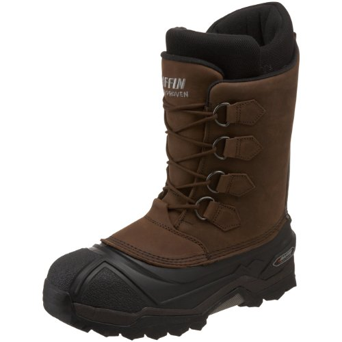 Baffin Men's Control Max Snow Boot,Worn Brown,10 M US