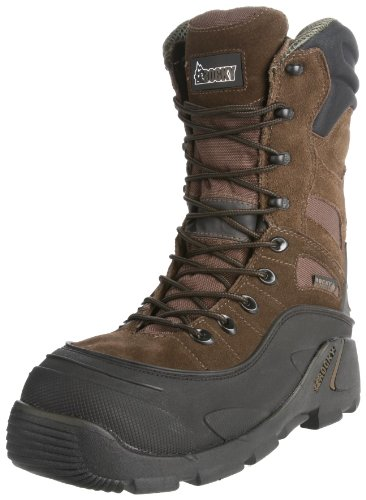 Rocky Men's Blizzard Stalker Pro Hunting Boot,Brown/Black,12 M US