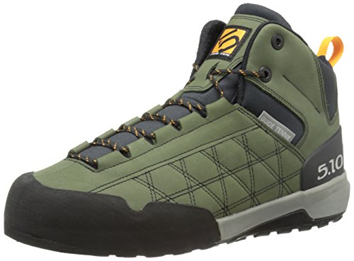 Five Ten Men's Guide Tennie Mid Hiking Boot, Dark Base Green, 10.5 M US
