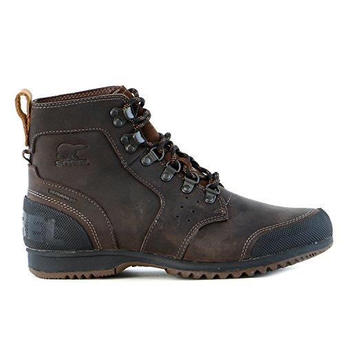 Sorel Ankeny Mid Hiker Boot – Men's Tobacco / Black 10