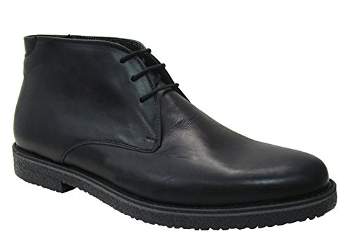 GBX 09130 Mens 3 Eyelet Chukka Boot,Black,15M