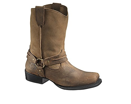 Harley-Davidson Men's Stan Harness Boot,Brown,8.5 M US