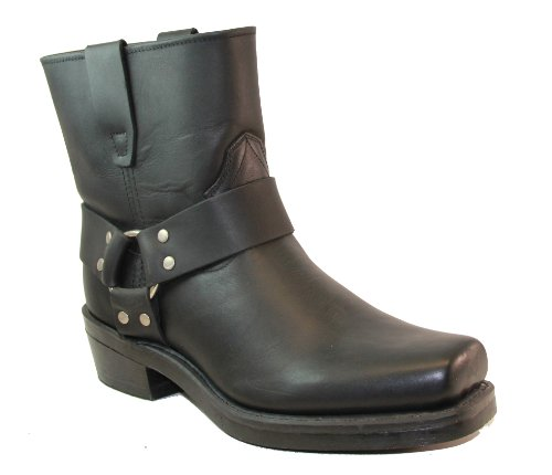 King Rocks 7″ Square Toe Boot mens, Black 9.5 M US