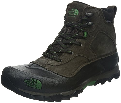 The North Face Men's Snowfuse Ganache Brown/Sullivan Green Boot 8 D – Medium