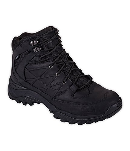 Men's The North Face Storm Mid Waterproof Leather Boot TNF Black Size 12 M US