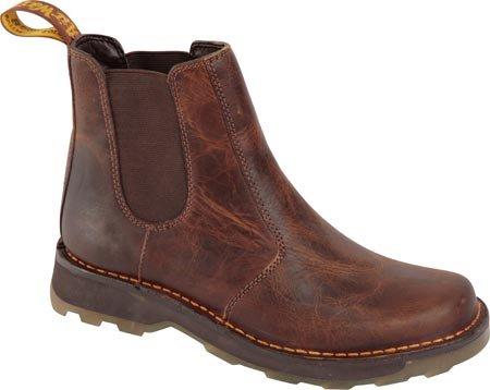 Dr. Martens Men's Walt Chelsea Boot, Tan Greenland, 12 UK/13 M US
