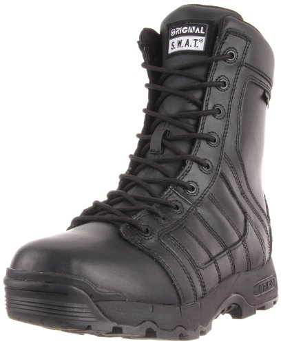 Original S.W.A.T. Men's Metro Air 9 Inch Side-zip 200 Tactical Boot, Black, 8 D US