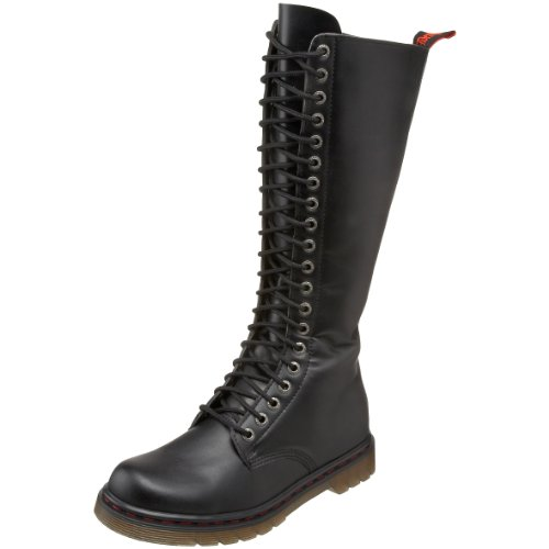 Pleaser Men's Disorder-400/B Boot,Black Polyurethane,8 M US