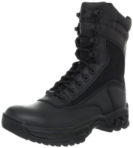 Ridge Footwear Men's Air-Tac Plus Zipper Boot,Black,11 M US