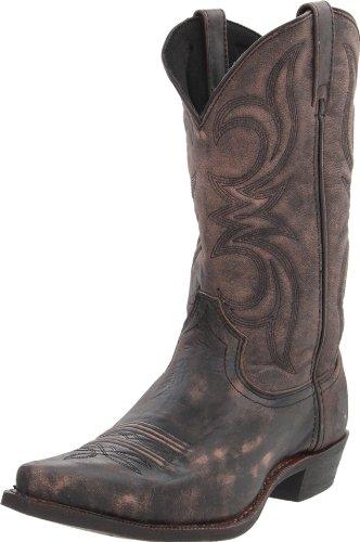 Dingo Men's Wyldwood Boot,Black/Tan Crackle,9.5 D (M) US