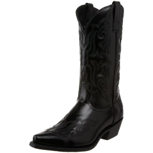 Laredo Men's Hawk Western Boot,Black,13 D US