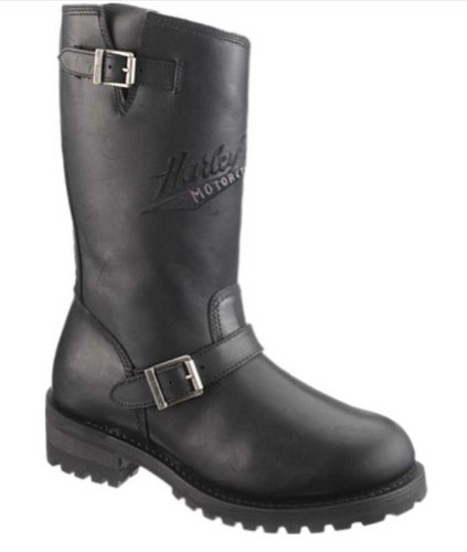 Harley-Davidson Men's Trail Boss Riding Boot,Black,10 M US