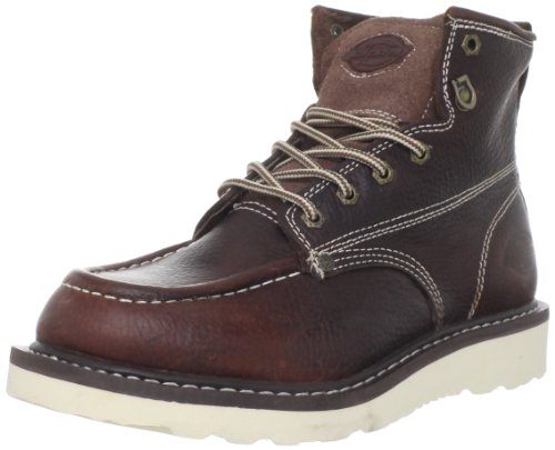 Dickies Men's Trader 6″ Leather Boot,Burgandy,14 M US