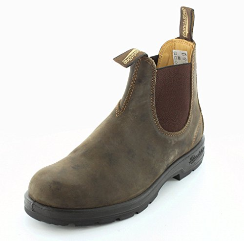 Blundstone Mens 585 Rustic Brown Chelsea Boot – 9 UK
