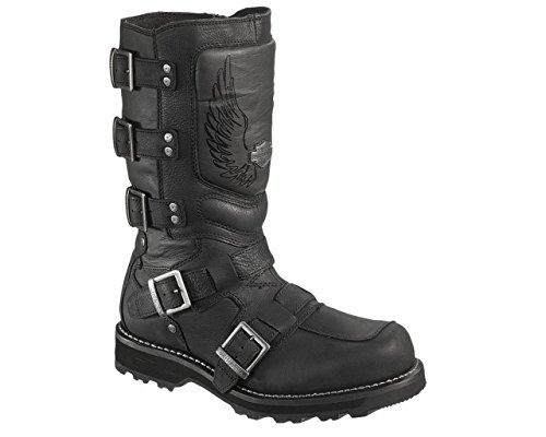 Harley-Davidson® Mens Motocruz Black Leather High Cut Boot (9.5)