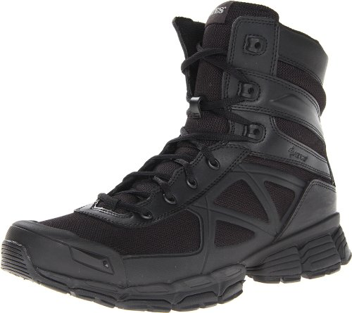 Bates Men's Velocitor Black V Frame Uniform Boot, Black, 10 M US