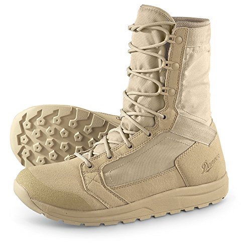 Men's 8 inch Danner Tachyon Military Boots, TAN, 15M