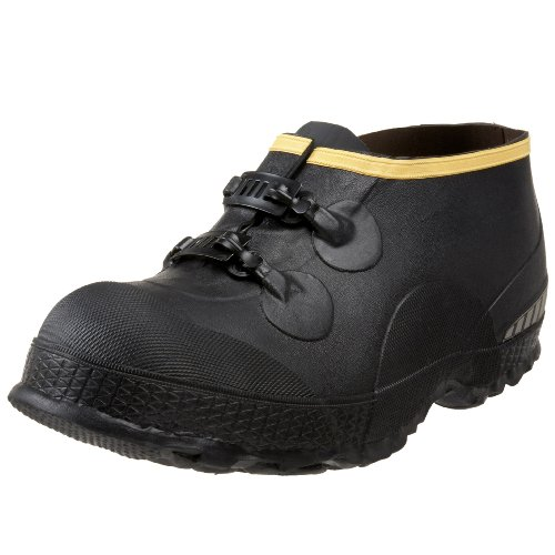 LaCrosse Men's 5″ Premium Two-Buckle Overshoe,Black,13 M US
