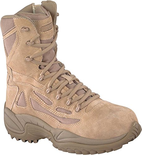 RB8896 Reebok Men's Stealth Uniform Boots – Desert Tan – 11.5W